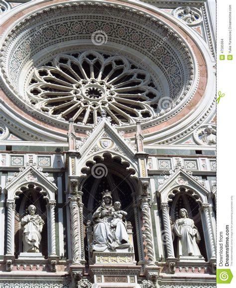 duomo di santa fiore florence cathedral santa fiore stock photo