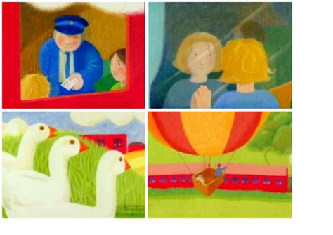 the train ride sequencing cards for the train ride retell by kerigrane teaching resources tes