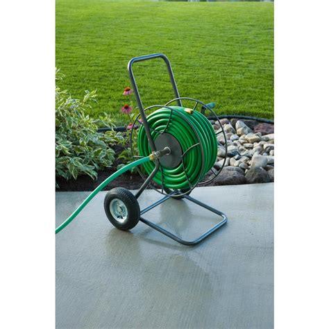 yard butler  wheeled hose reel cart   home depot