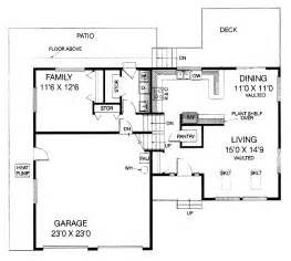floor plans aflfpw11793 2 story split level home with 3