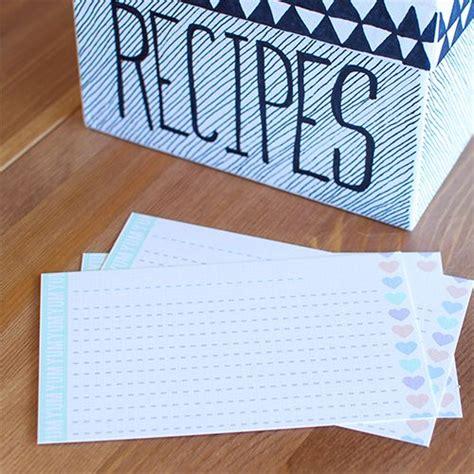 salsa recipie card template free printable recipe cards printable recipe cards