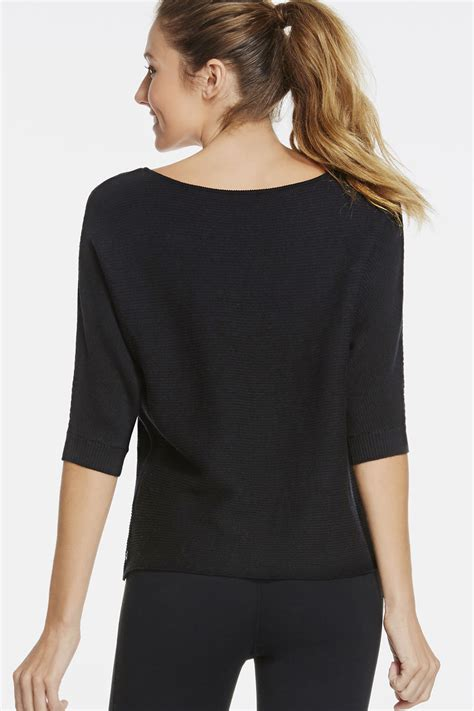 Sweater Uber Trendy 1 dia sweater in schwarz g 252 nstig kaufen bei fabletics
