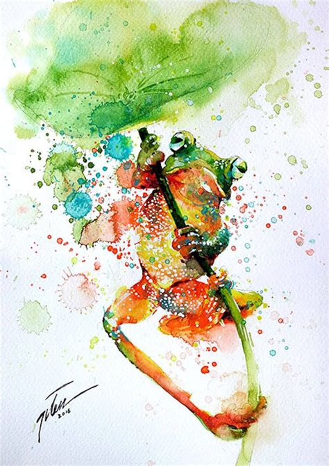 water color animals the 25 best watercolor animals ideas on