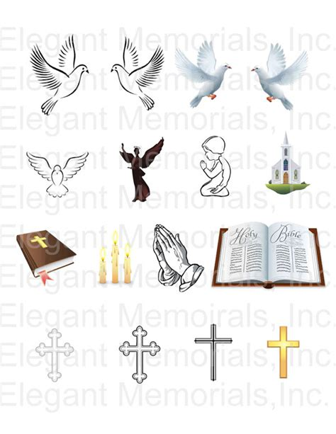 free memorial card template with messianic symbol funeral program clipart collection 49