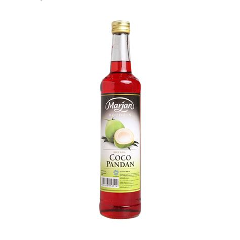 Marjan Boudoin Syrup Vanilla 460ml jual syrup marjan cek harga di pricearea