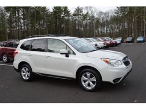 white subaru forester 2015 2015 subaru forester white lease busters wheels ca