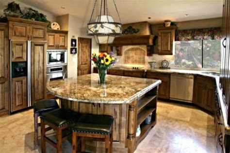 Granite Kitchen Island Ideas Granite Kitchen Island Design The Interior Design