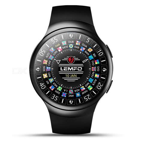 Smartwatch Lemfo Les2 lemfo les2 3g 1 3 quot smartwatch phone with 1gb ram 16gb rom
