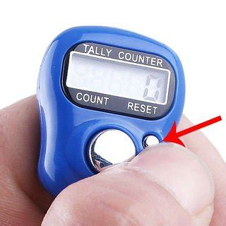 Diskon Tally Counter Digital Finger digital finger tally counter puja mantra counter counting remember tasbeeh