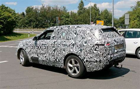 land rover camo range rover sport coupe puts on camouflage for nurburgring run