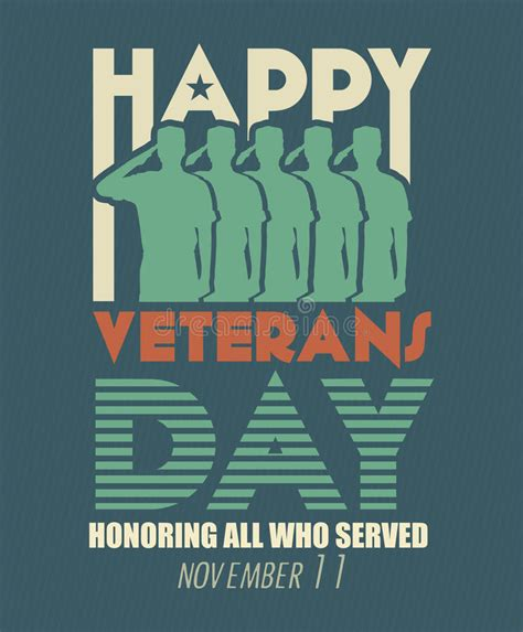 Happy Veterans Day To Army Soldier Free Greeting Card Template by Veterans Day Greeting Card Us Armed Forces