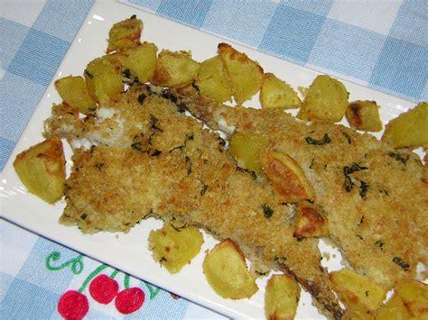cucinare coda di rospo al forno coda di rospo al forno con patate in cucina con zia lora