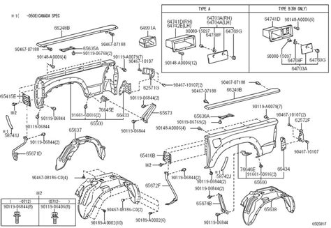 1999 toyota tacoma parts diagram toyota tacoma parts diagram autos post
