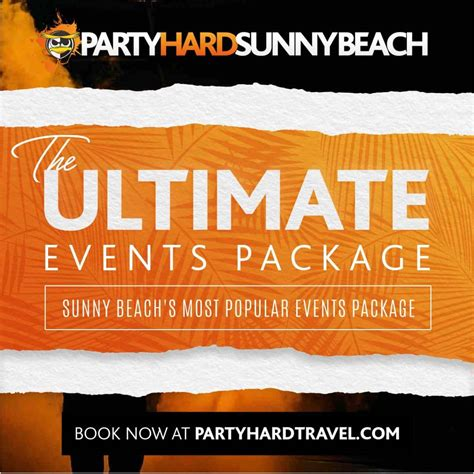 sunny beach   packages  party hard