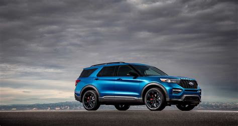 Ford Hybrid Explorer 2020 by 2020 Ford Explorer Gains High Performance St And Fuel