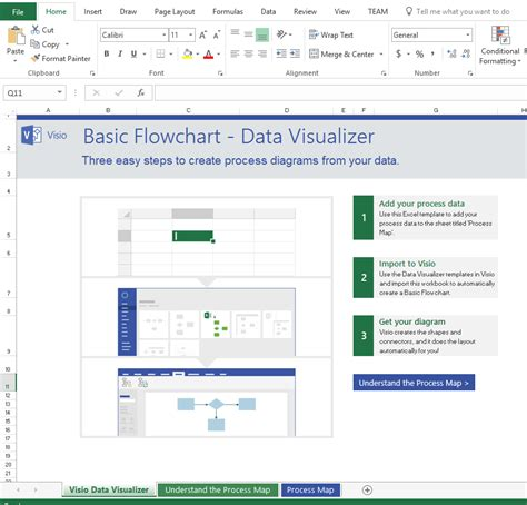 visio file exle insiders data visualizer for process diagrams in visio