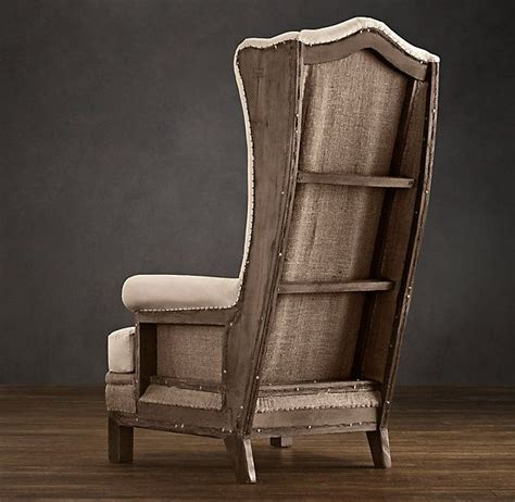 wood frame wingback chair pin by chester on interiors