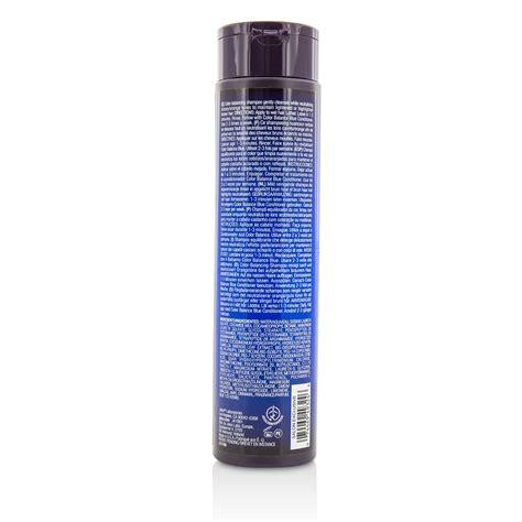 color balance hair color balance blue shoo eliminates brassy tones on