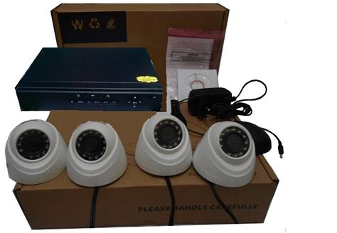 Paket Kamera Cctv Hd Ehd Ahd 4 Channel Indoor Outdoor 1 3mp 1 3 Mp paket cctv 4 termurah sentra cctv