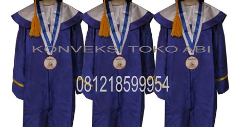 Baju Wisuda Anak Paud pembuatan baju wisuda tk konveksi toko abi