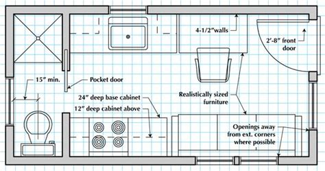 floor plan how to draw a tiny house floor plan lots of