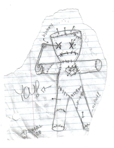 i found a voodoo doll in my house voodoo doll by oozium 238 on deviantart