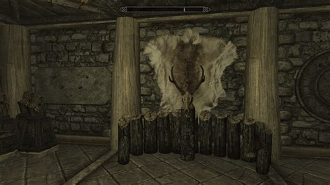 skyrim trophy room breezehome basement trophy room at skyrim nexus mods and community