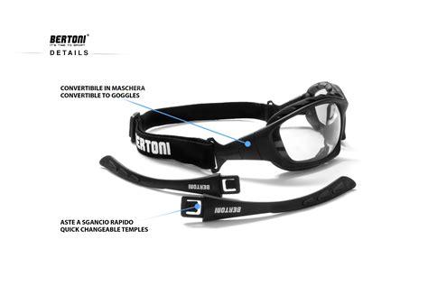 Motorradbrille Photochromic by Bertoni F366a Photochromen