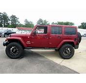 AEV 25 Inch Lift And 35 Nitto Trail Grapplers  J E