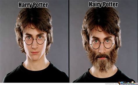 Hairy Men Meme - hairy potter by vincharello meme center