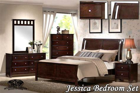 jessica collection bedroom set jessica expresso bedroom set sleep masters canada