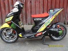 Roller Yamaha Mio Sporty yamaha mio custom modified scooter ruckus