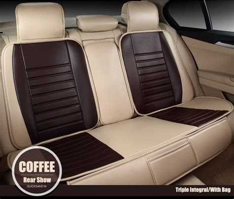 volkswagen seat covers tiguan only rear universal leather car seat covers for