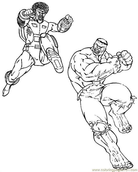 hulk fighting coloring pages free hulk cartoons az coloring pages