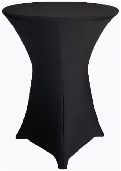 spandex highboy table cover black cocktail highboy spandex table covers 36 inch
