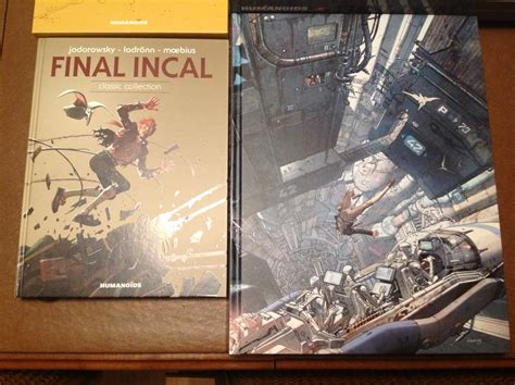 final incal comic sequential art bande dessinee in english final incal coffee table book limited