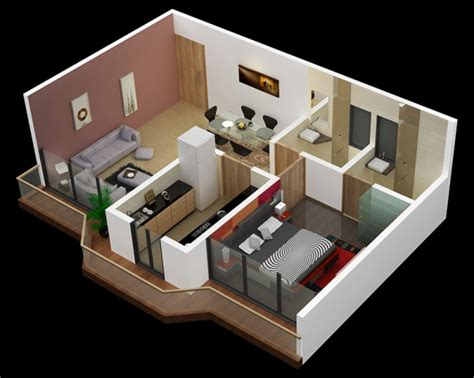 one bedroom design ideas 25 one bedroom house apartment plans