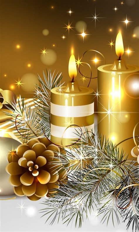 christmas candles wallpapers hd wallpapers desktop