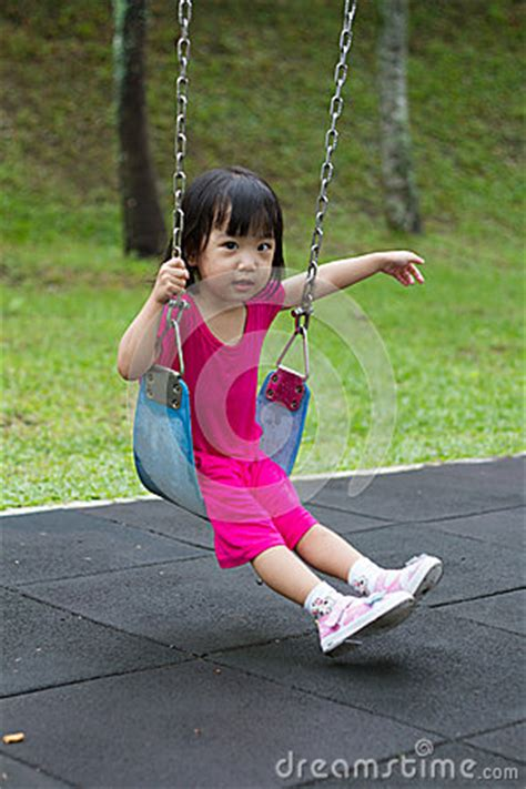 swing asia asian kid swing at park stock photo image 57107987