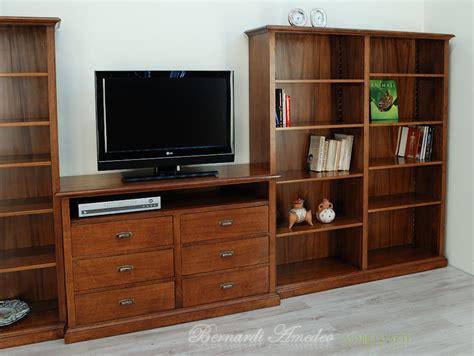 librerie tv libreria con porta tv librerie