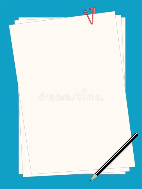 lined paper with plain border plain paper royalty free stock image image 1227026