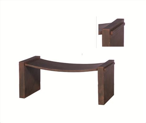 dip bench benches michael o design solutions for interior designer