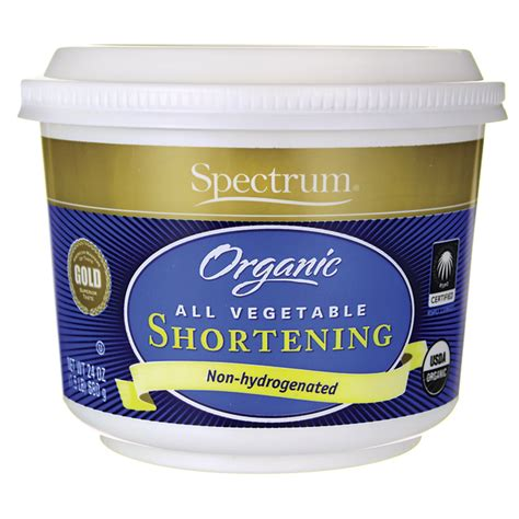 Crisco All Vegetable Shortenin 453gr spectrum essentials organic all vegetable shortening 24 oz