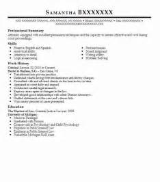 Criminal Lawyer Sle Resume by Lawyer Cv Template Curriculum Vitae