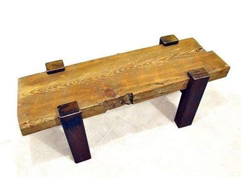 reclaimed beam coffee table made reclaimed beam coffee table by drew lambert