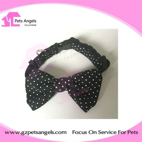 cute pattern dog collars cute pet dog collar diy bow tie patterns for puppy large