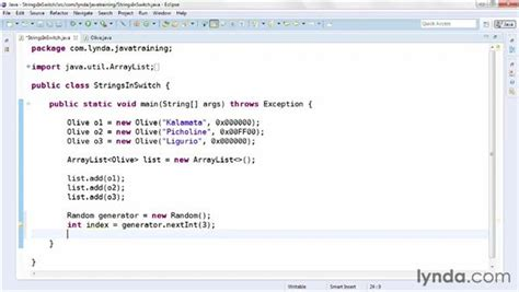 java tutorial random using strings in switch statements