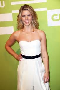 emily bett emily bett rickards at cw network s 2015 upfront in new
