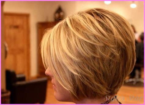 hairstyles photos the blonde layered cut short haircut bob layered stylesstar com