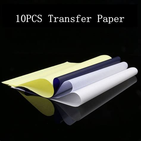10 tattoo spirit stencil transfer copier paper a4 usa 10pcs tattoo thermal stencil transfer paper a4 size spirit